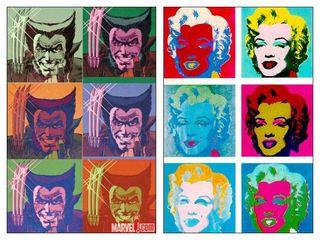 Façon Andy Warhol