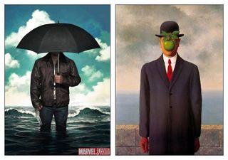 Façon René Magritte