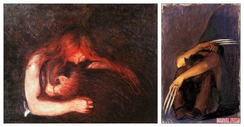 Façon Edvard Munch