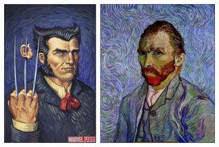 Façon Vincent Van Gogh