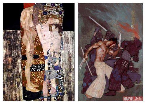 Façon Gustav Klimt