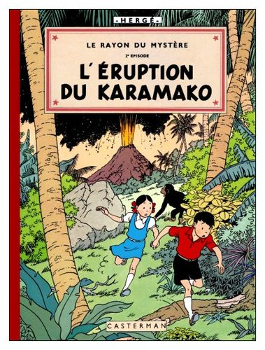 L'éruption du Karamako