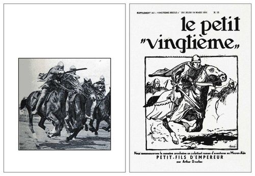 The Illustrated London News et Le petit Vingtième
