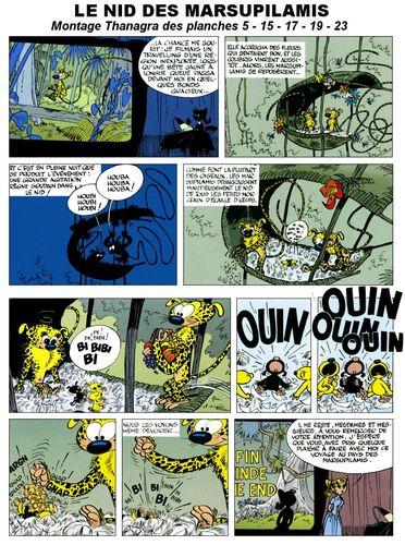 Le nid des marsupilamis par Franquin
