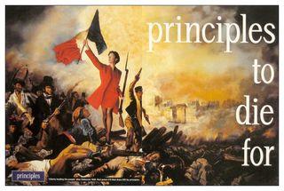 Mourir pour des principes