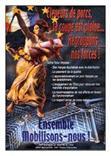 Affiche du Comité Régional Porcin de Bretagne