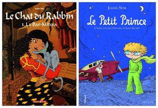 Deux BD de Joann Sfar