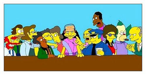 La cène_Matt Groening