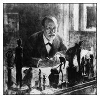 Freud par Max Pollack