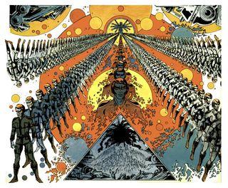 Le trône du Dieu noir