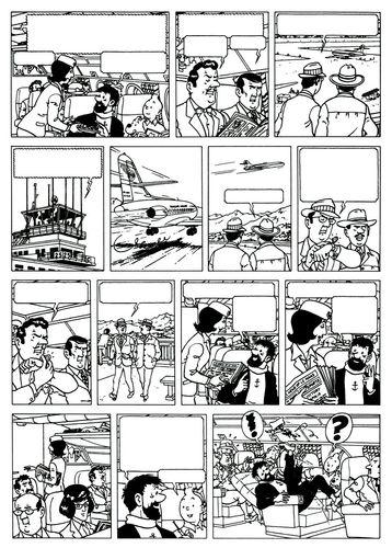 Tintin par Jacques Martin