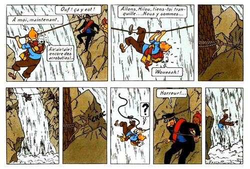 Version Hergé ( montage )