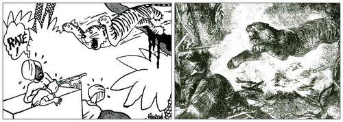 Attaqué par un tigre