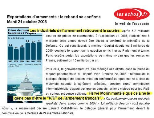 Les Echos 21 10 2008