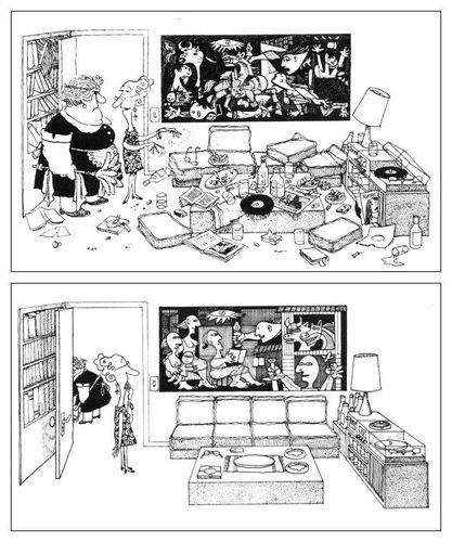 Guernica remis en ordre par Quino