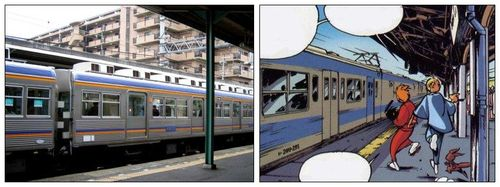 Un train de banlieue