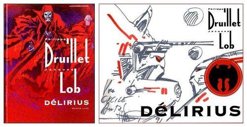 Délirius dédicacée en 1991