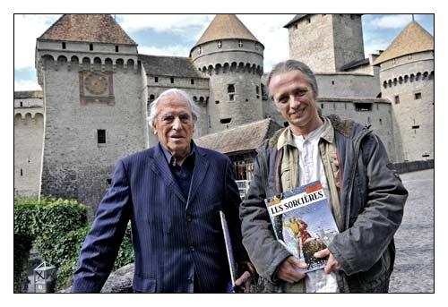 J. Martin et T. Cayman à Chillon