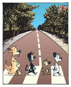 Abbey Road Mutts