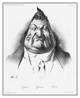 Louis Philippe par Daumier