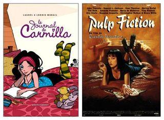 Carmilla et Pulp Fiction