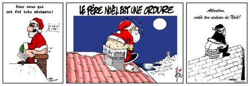 Des Pères Noël...