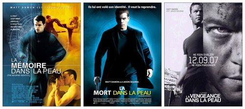 La trilogie Bourne