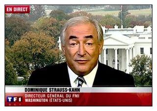 DSK à la Maison blanche