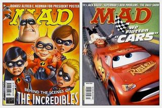 Incredibles et Cars