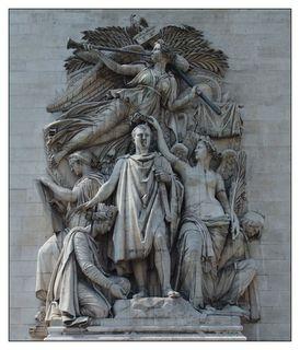 Le triomphe de 1810_Pierre Cortot