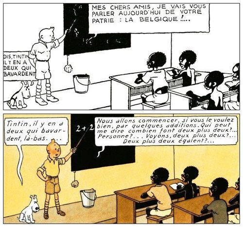 Tintin au congo 1
