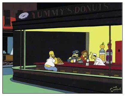Nighthawks de Matt Groening