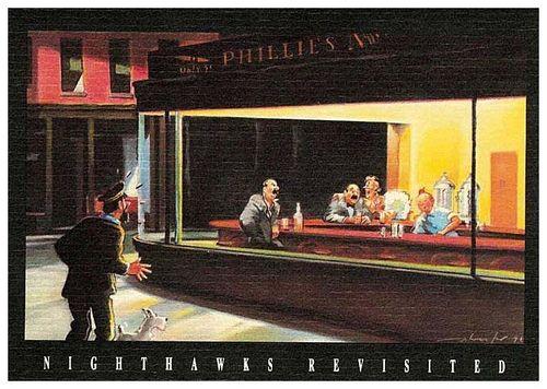 Nighthawks tintin