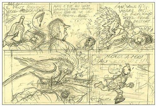 Planche 1b d' Hergé