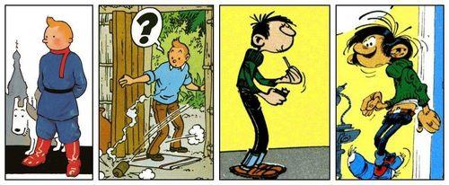 Hergé_Franquin