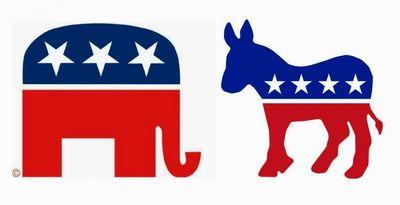 Elephant et ane