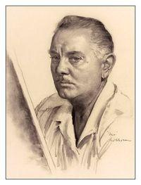 Gil Elvgren Autoportrait