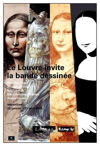Le Louvre affiche