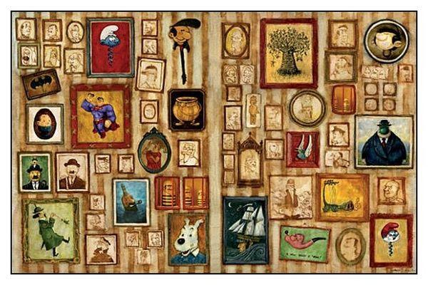 Papier Peint Tintin Et Milou 349. wallpaper.des héritiers ! - le blog bd de mr thanagra