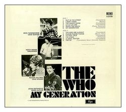 The Who verso