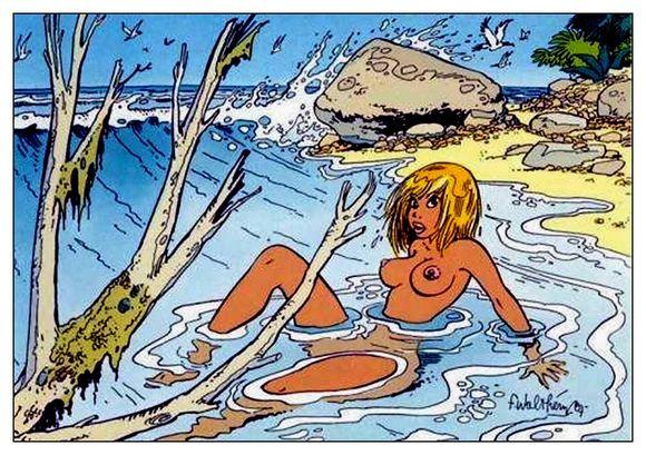 13 Natacha à la mer