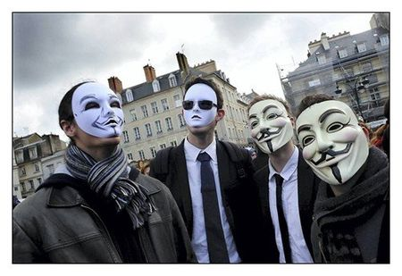 Manifestation anonymous