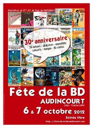 Fête de la BD 2012