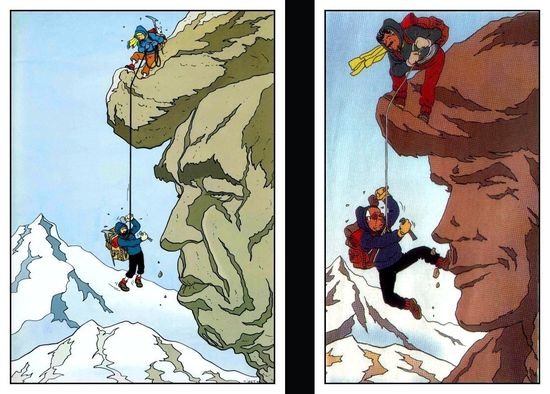 Tintin et Ric Hochet