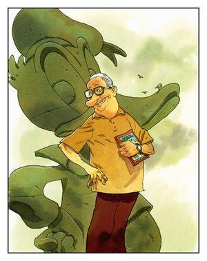 Carl Barks par Zep