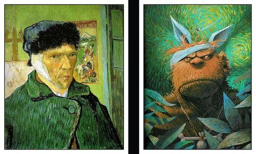 Van Gogh et Mourier