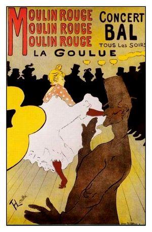 Lautrec La Goulue