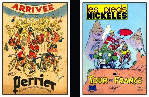 Pellos et le tour de france