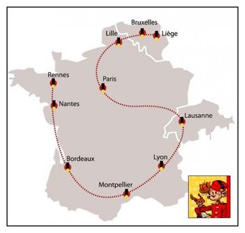 Carte Spirou Tour