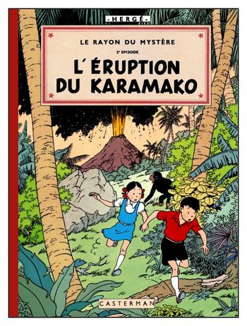 L'eruption du Karamako